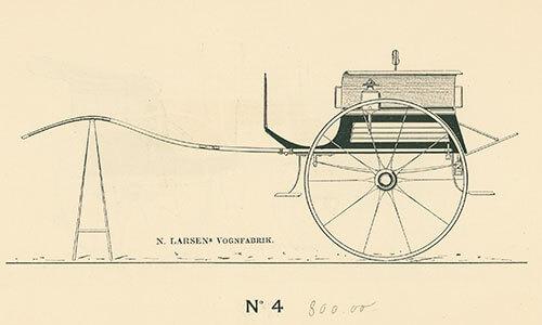 Tohjulet-dogcart