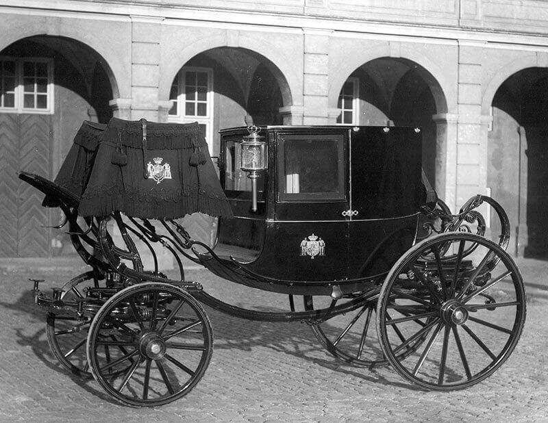 2-sædet gallakaret 1861