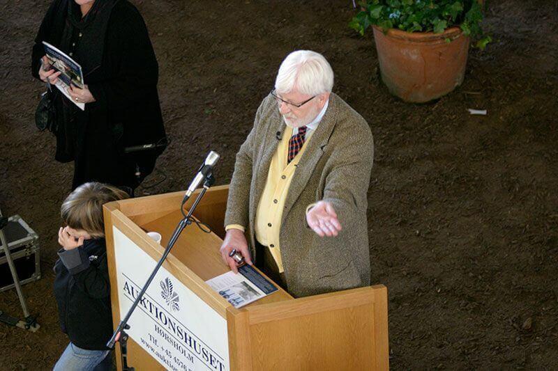 Auktionarius i Den kgl. Stald 2007