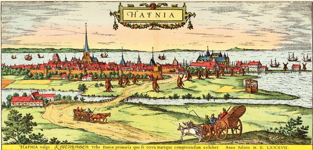 København efter Braunius 1587