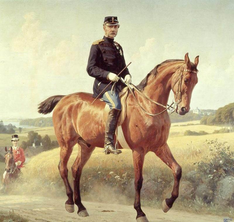 Christian 9. til hest