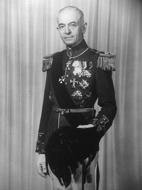 Ernst Maria Eegholm Schaumburg. Privatfoto.