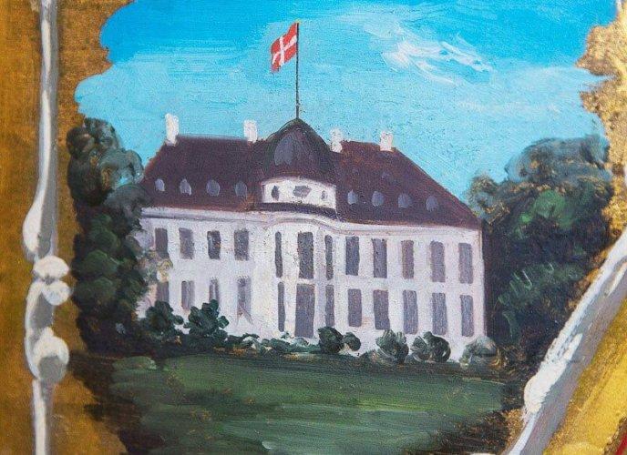 Maleri af Bernstorff Slot