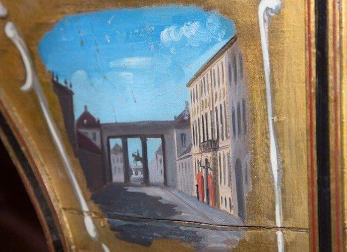 Maleri af Det gule Palæ