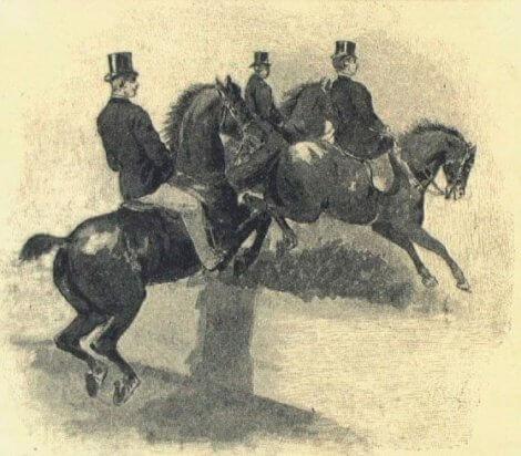 Springøvelse i Lørups ridehus