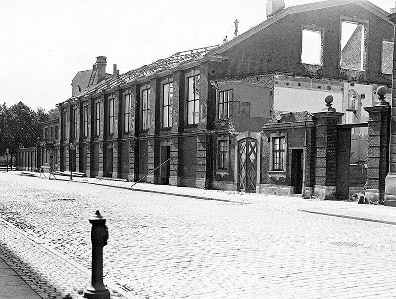 Lørups ridehus blev revet ned i 1931