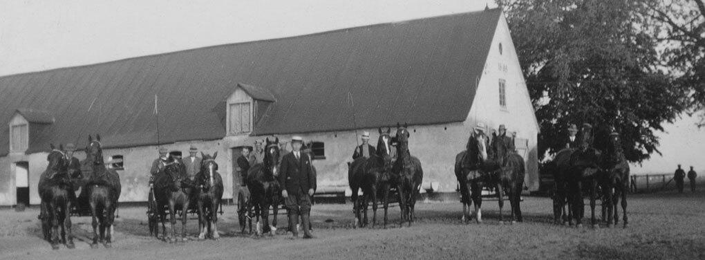 Orlow-Andersen underviser på kørekursus 1933