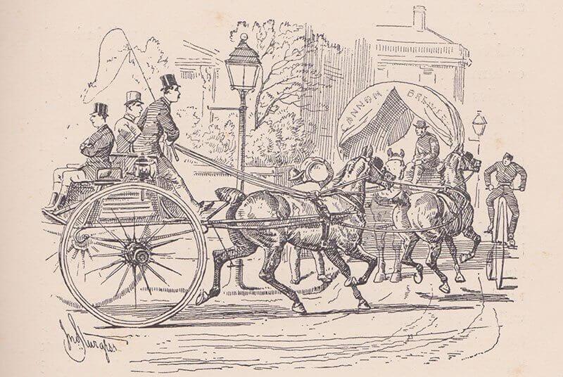 Tandem Beaufort 1890