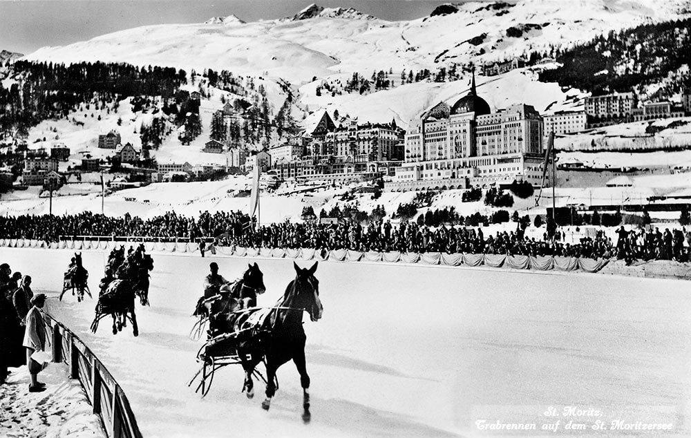 Trabrennen i St. Moritz 1936