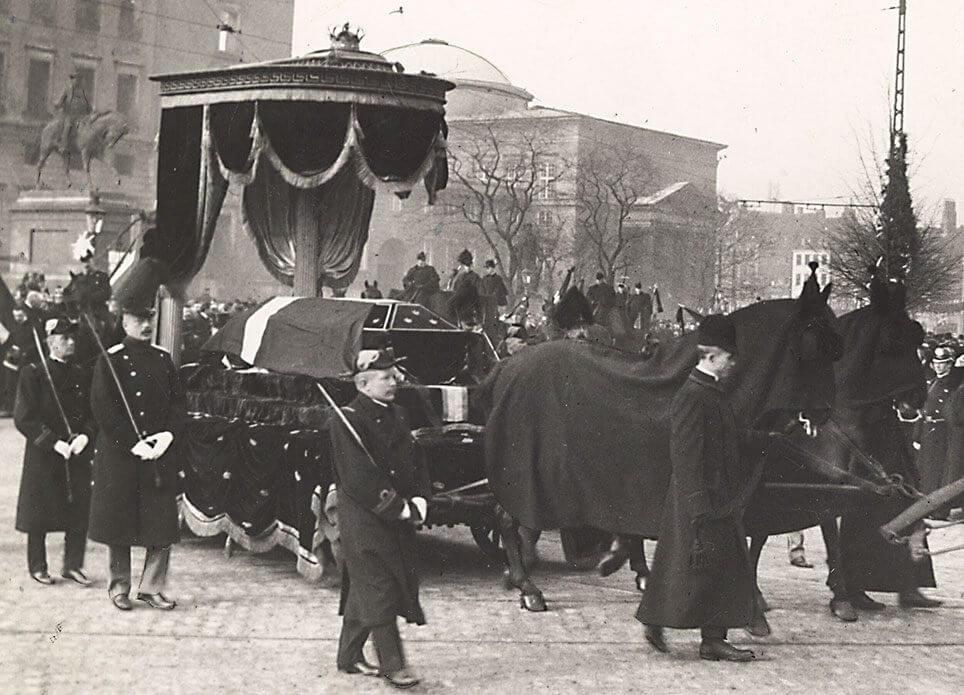 Christian 9.s bisættelse 1906