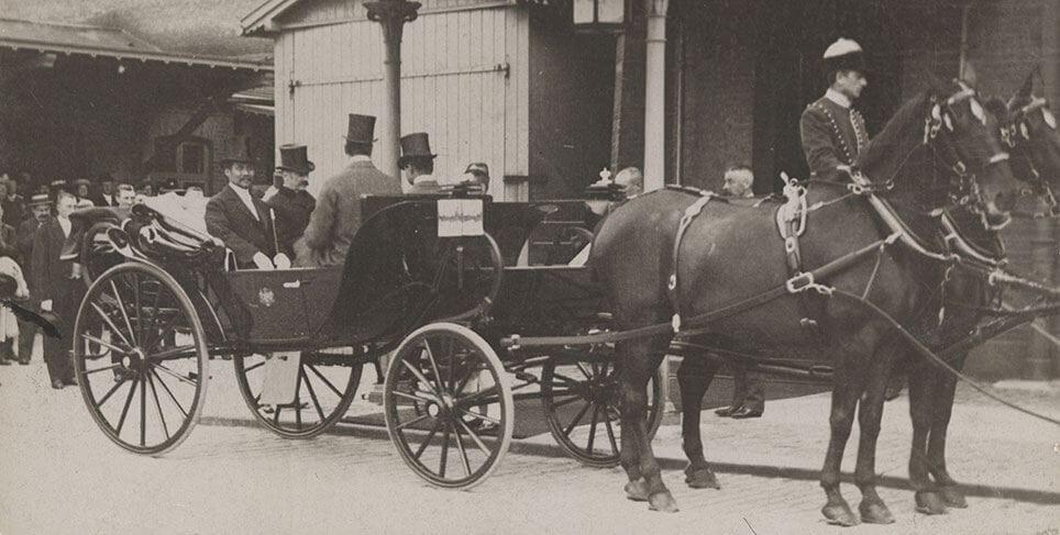 Kongen af Siam, Chulalongkorn kørte i daumontvognen fra Neuss i 1907