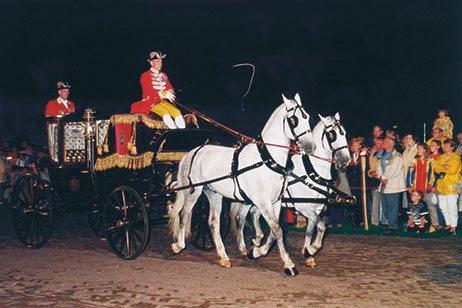 Guldbryllupskareten i Holland 1998