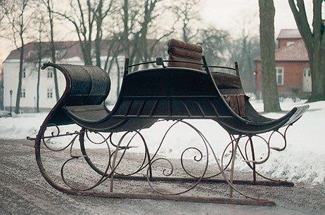 Dogcart-kane bygget af F.C. Schulz