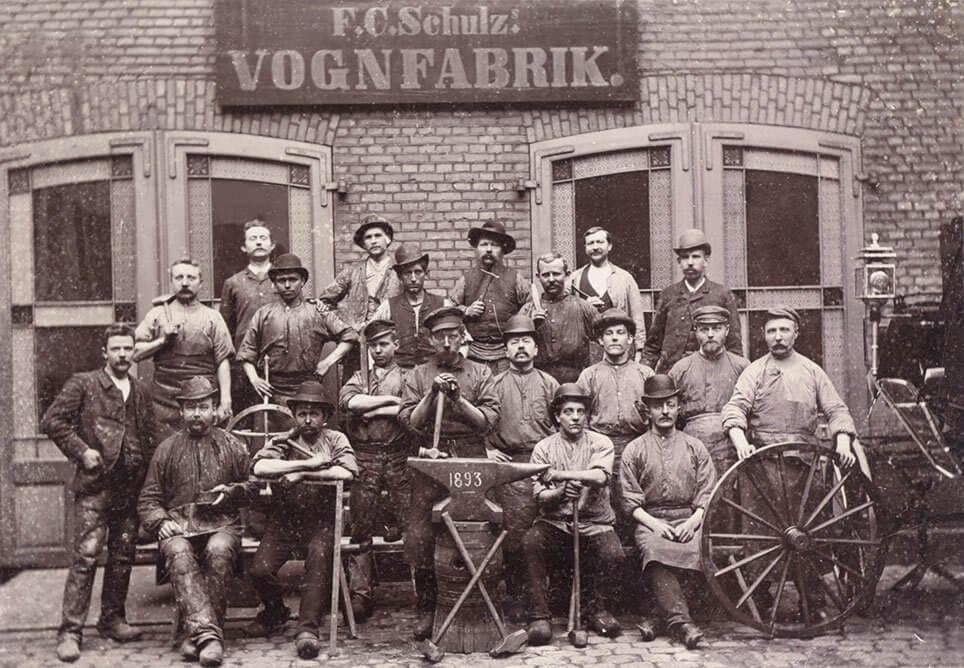 F.C. Schulz' medarbejdere i 1893