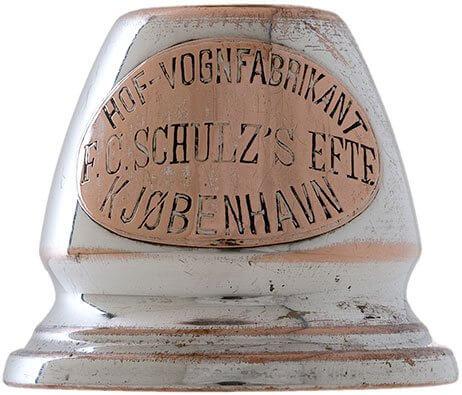 Detalje af vognlygte F.C. Schulz's Eftf.