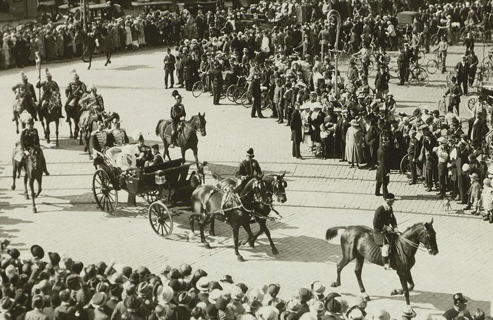 Dronning Wilhelminas besøg i København 1922