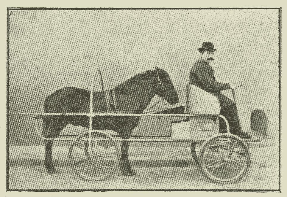 Hesten bagved vognen