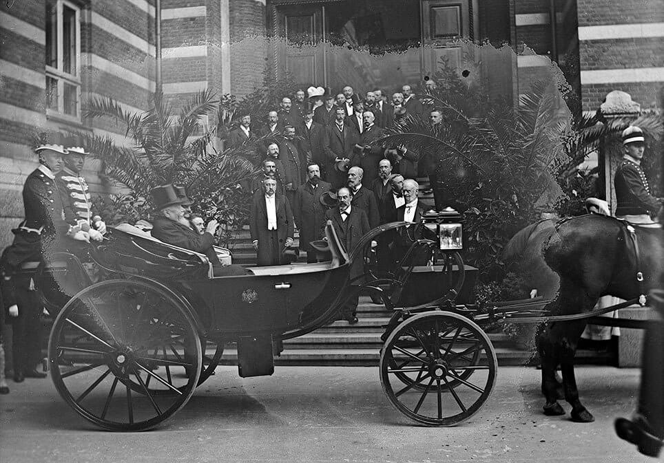 præsident Armand Fallières i Danmark 1908