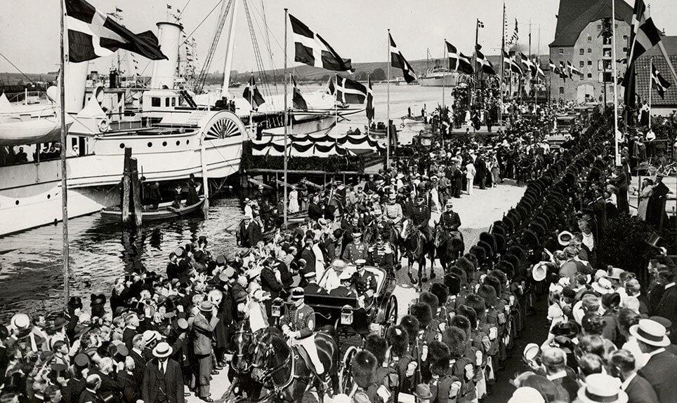 Daumontvognen fra Neuss i Sønderborg 1920
