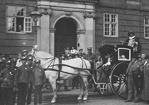 Hansom Cab i København 1925
