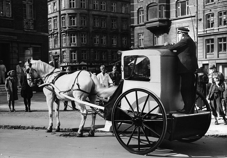 Erik Sommers Hansom cab.