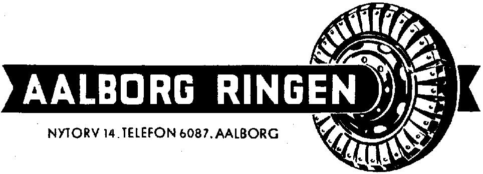 Aalborg Ringens logo med det karakteristiske trædæk