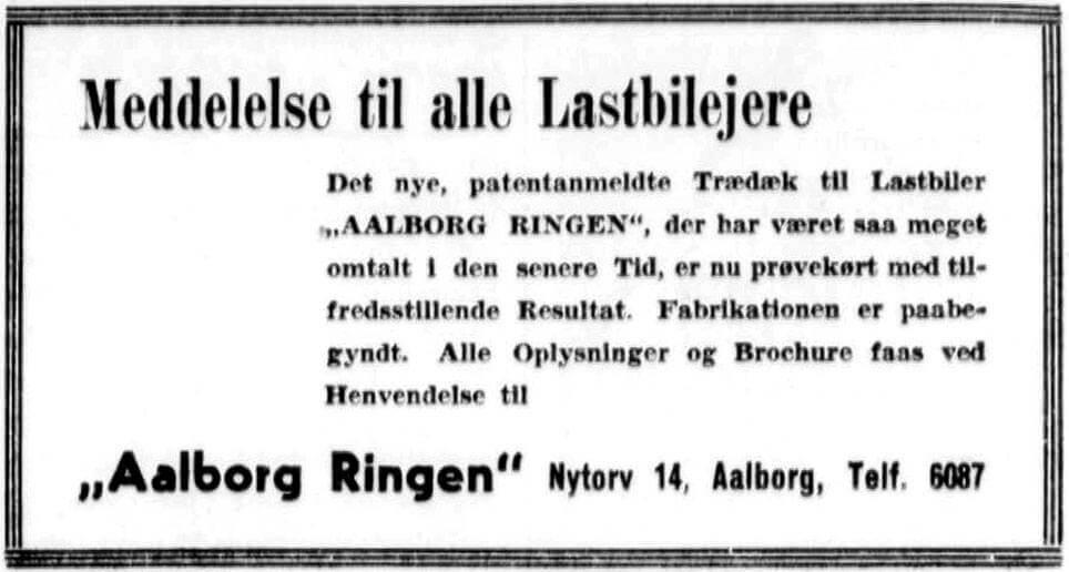 Fabrikation af Aalborg Ringen er begyndt.