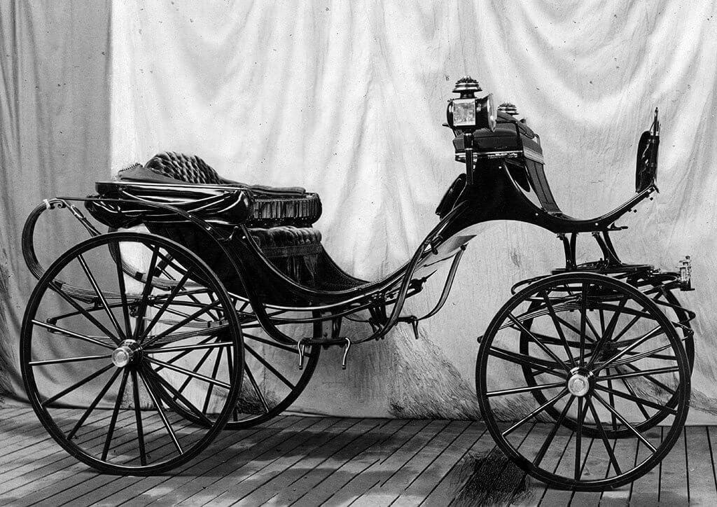 Jubilæumsvognen fra F. C. Schulz 1888