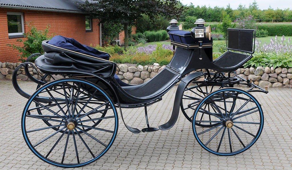Svend Aage Lauridsens mylord fra Schulz er samme model som jubilæumsvognen fra 1888.