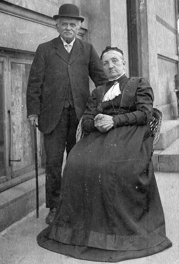Vilhelmine og Peter Petersen, Slagelse.