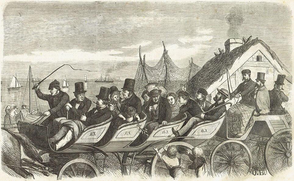 Kapervogn eller kaffemølle på Standvejen 1861.